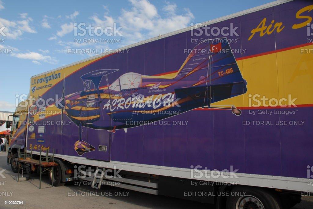 Pitts aerobatic aircraft stock photo