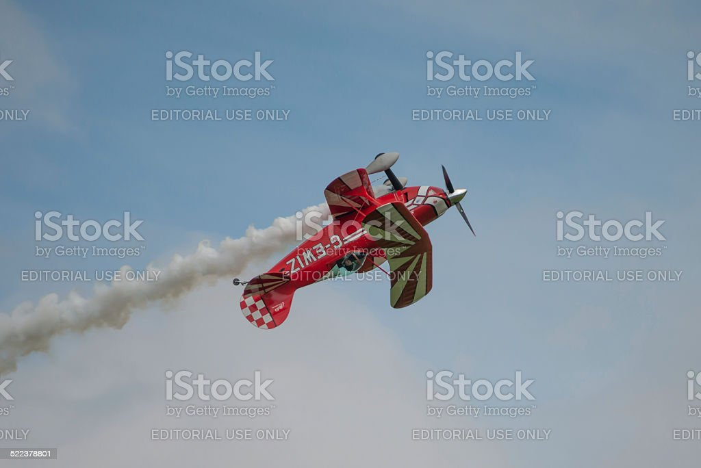 Pitts Special aerobatic aircraft stock photo