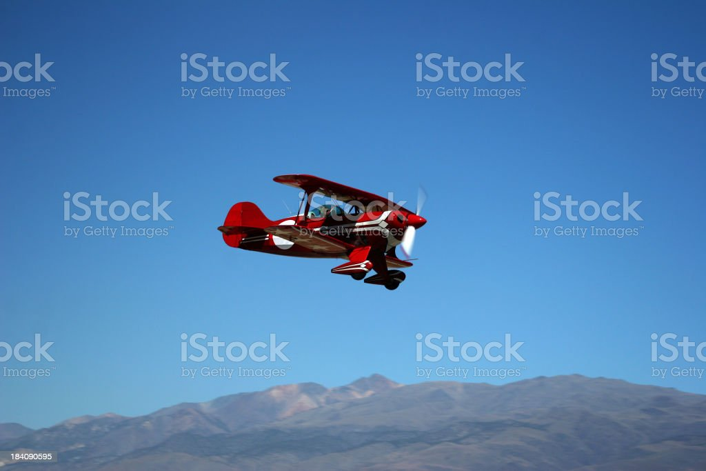 Pitts Special-4 stock photo