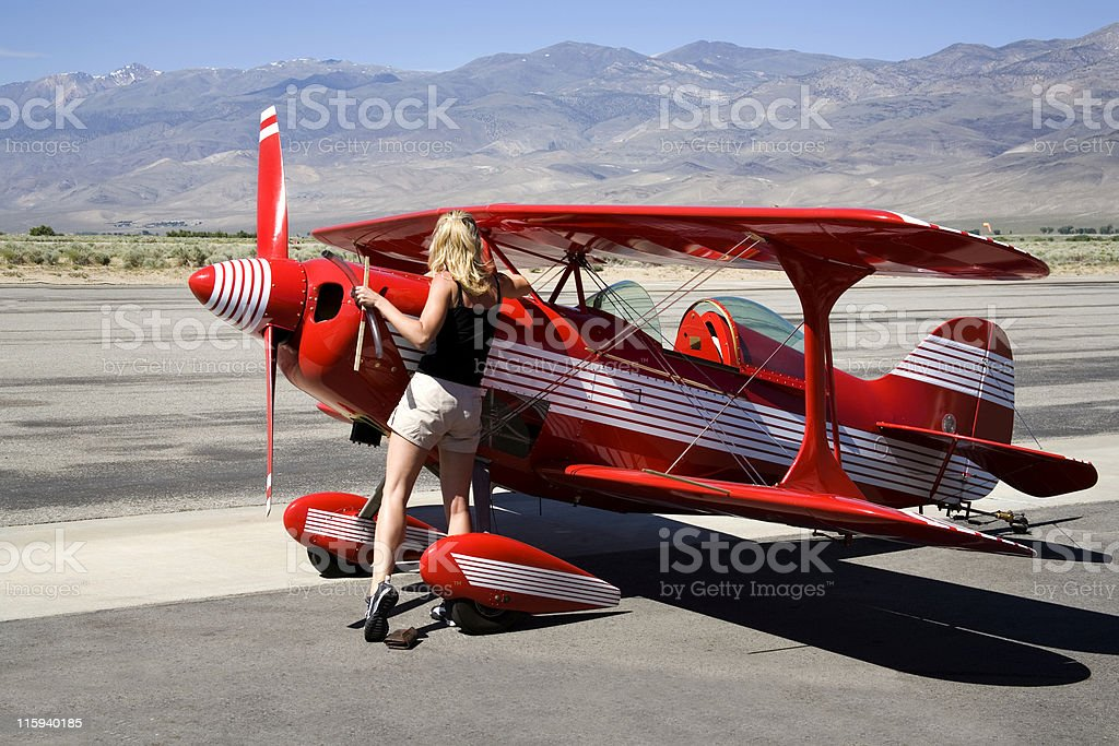 Pitts Special-5 stock photo