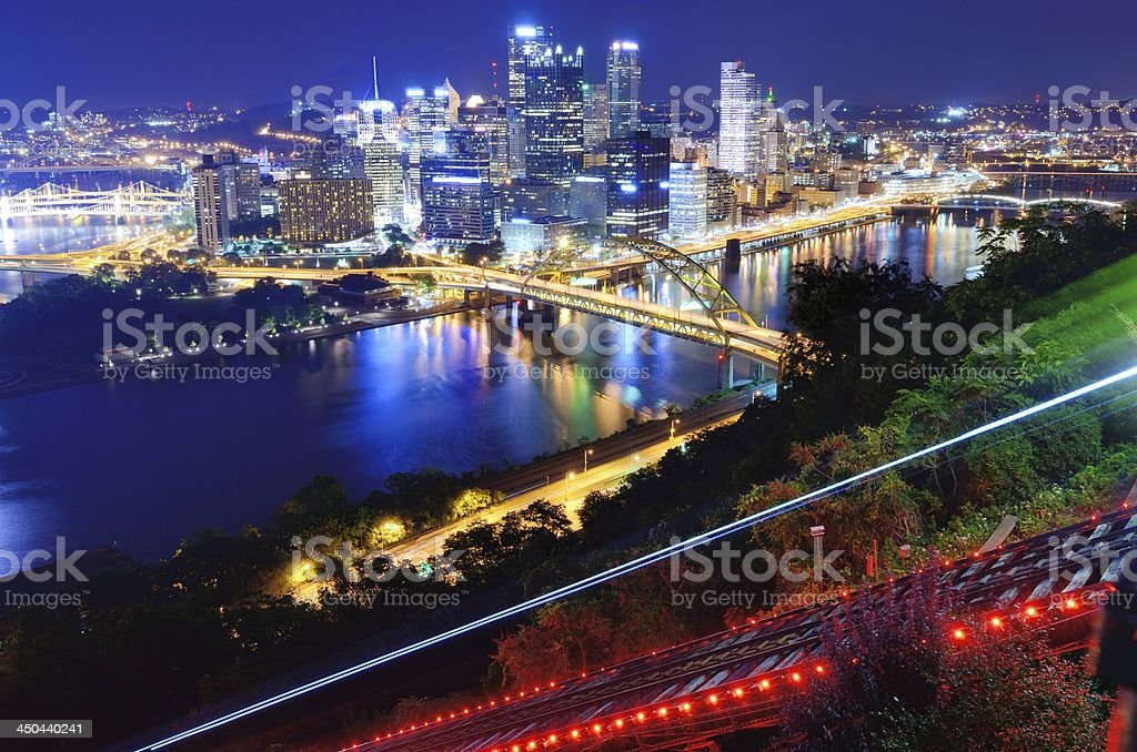 Pittsburgh Cityscape stock photo