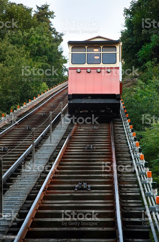 Pittsburgh Incline royalty-free stock photo