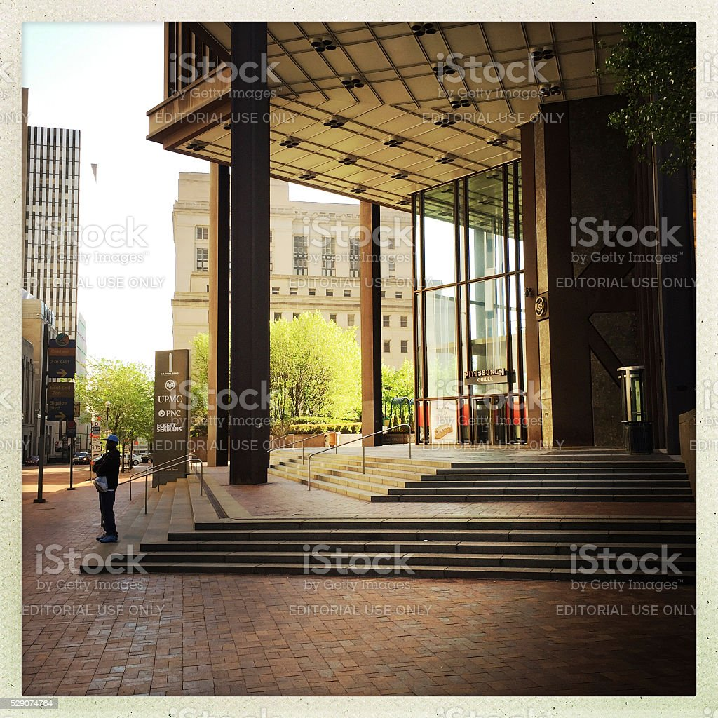 Pittsburgh Office Building on Grant Street stock photo