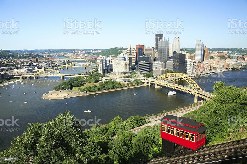 Pittsburgh, PA royalty-free stock photo