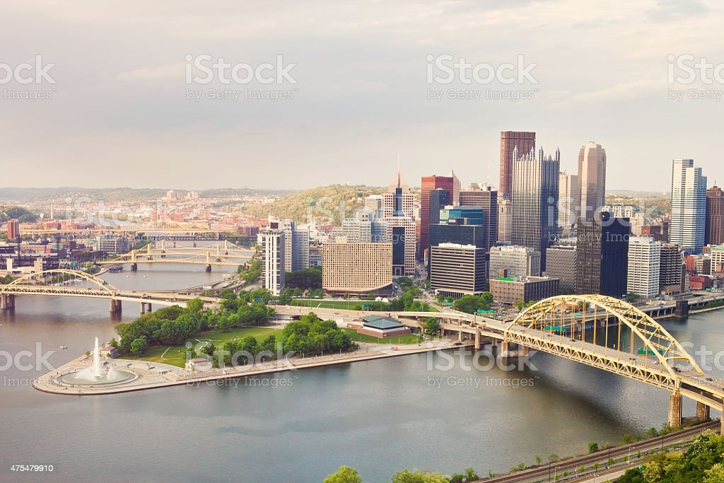Pittsburgh Pennsylvania stock photo