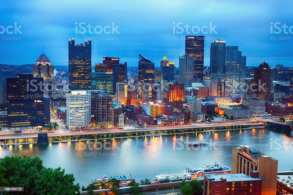 Pittsburgh, Pennsylvania stock photo