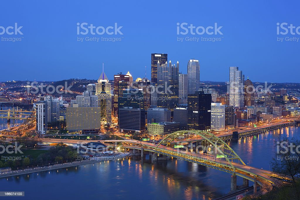 Pittsburgh, Pennsylvania, USA stock photo