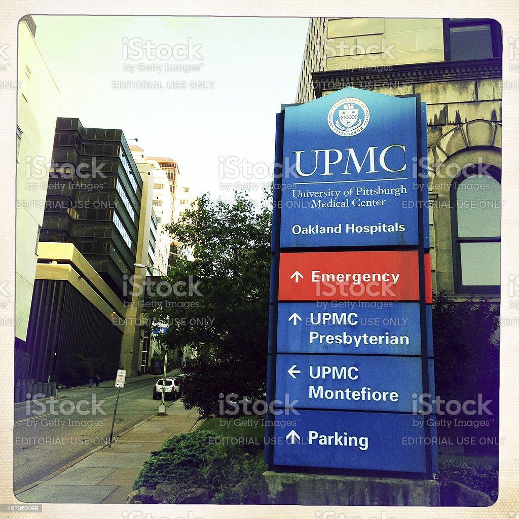 UPMC Pittsburgh stock photo