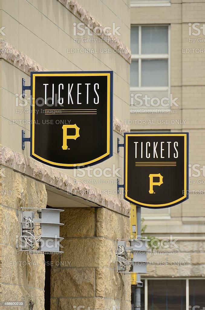 Pittsburgh Pirates royalty-free stock photo
