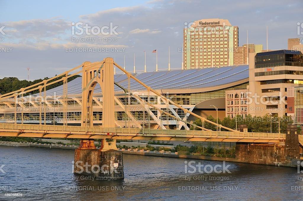 Pittsburgh Skyline stock photo