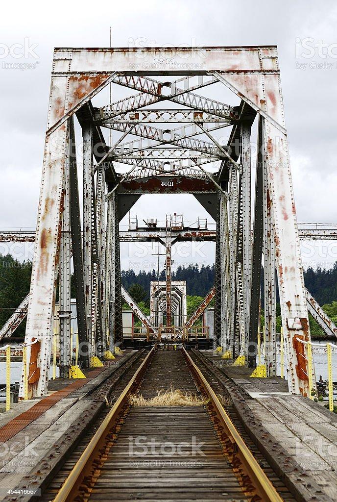 Pivot Bridge stock photo