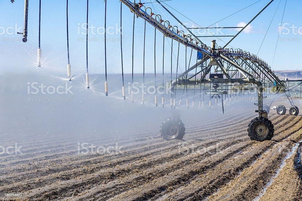 Pivot Irrigation System royalty-free stock photo