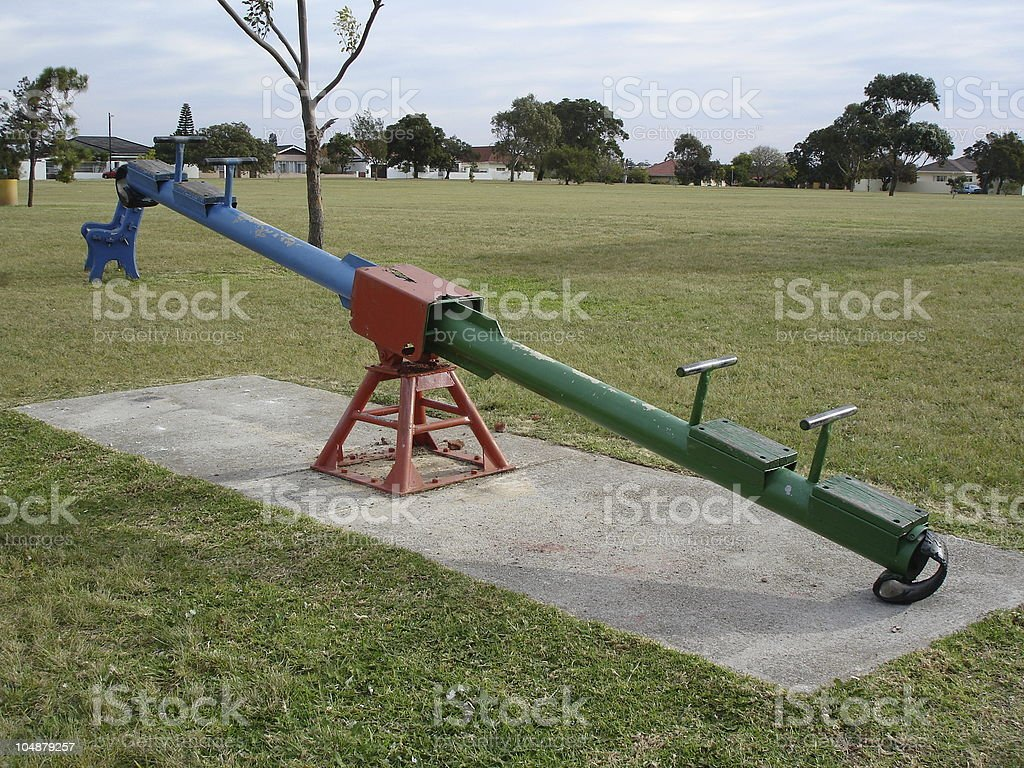 Pivotal See Saw 2 - REQUEST royalty-free stock photo