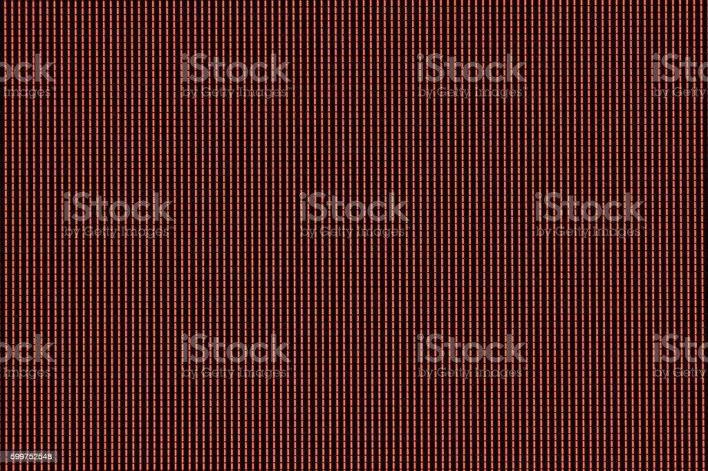 Pixels Red stock photo