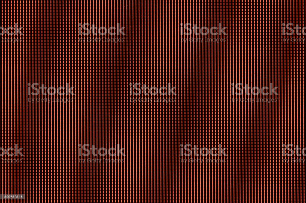 Pixels Red stock photo