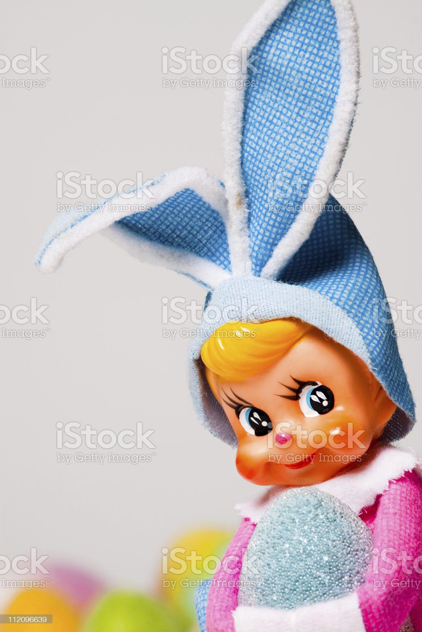 Pixie Easter royalty-free stock photo
