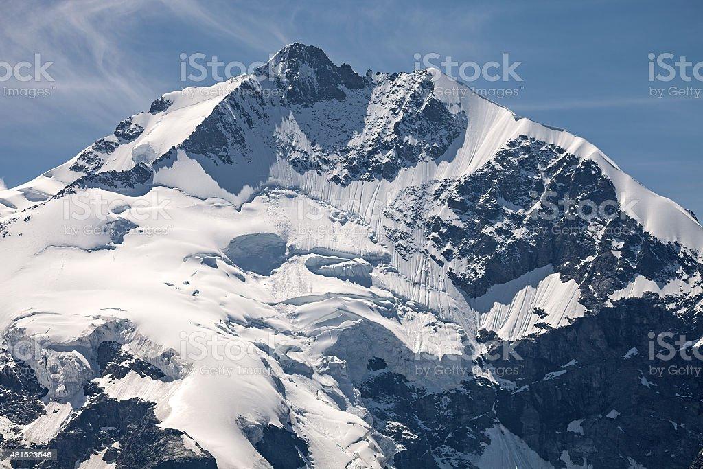 Piz Bernina stock photo