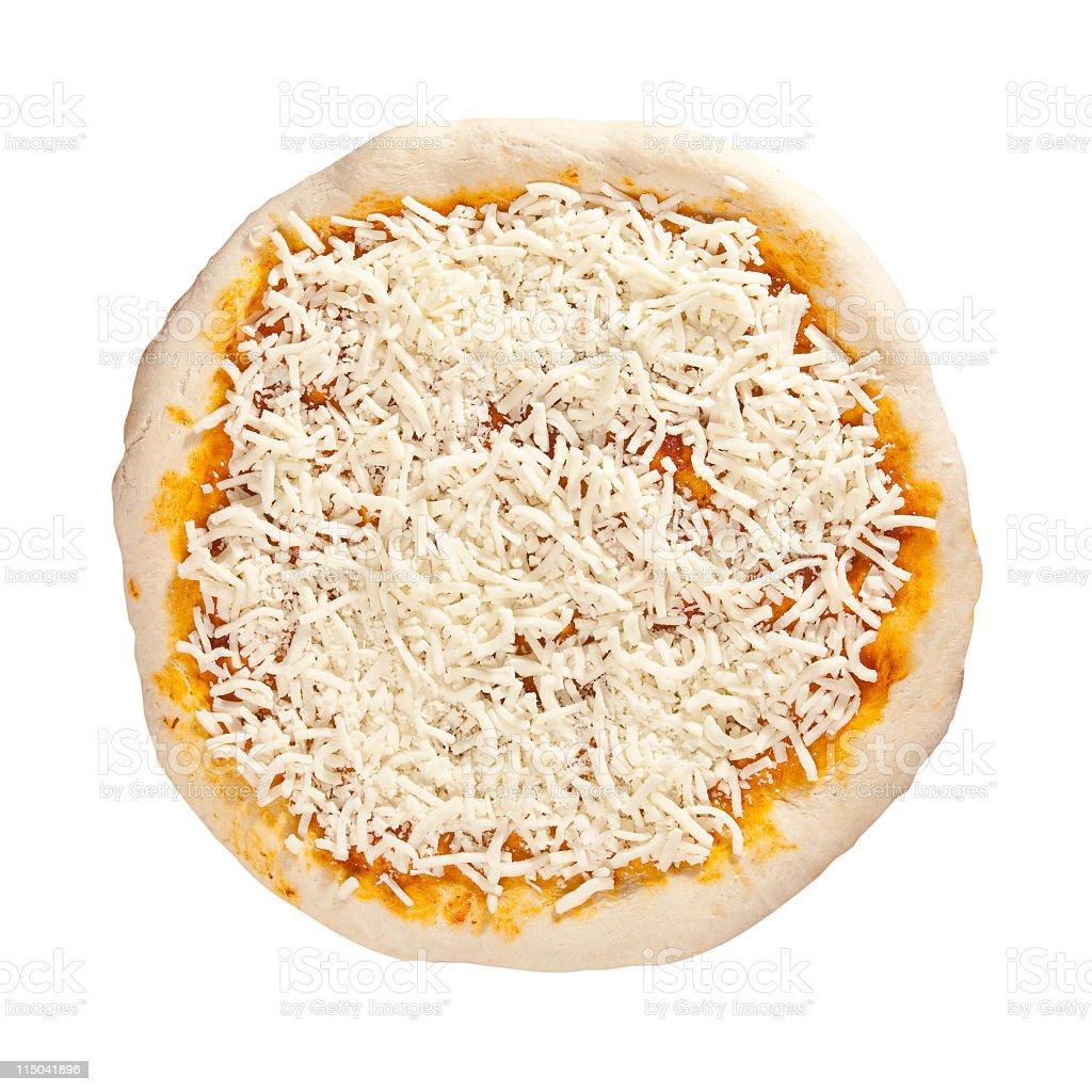pizza base stock photo