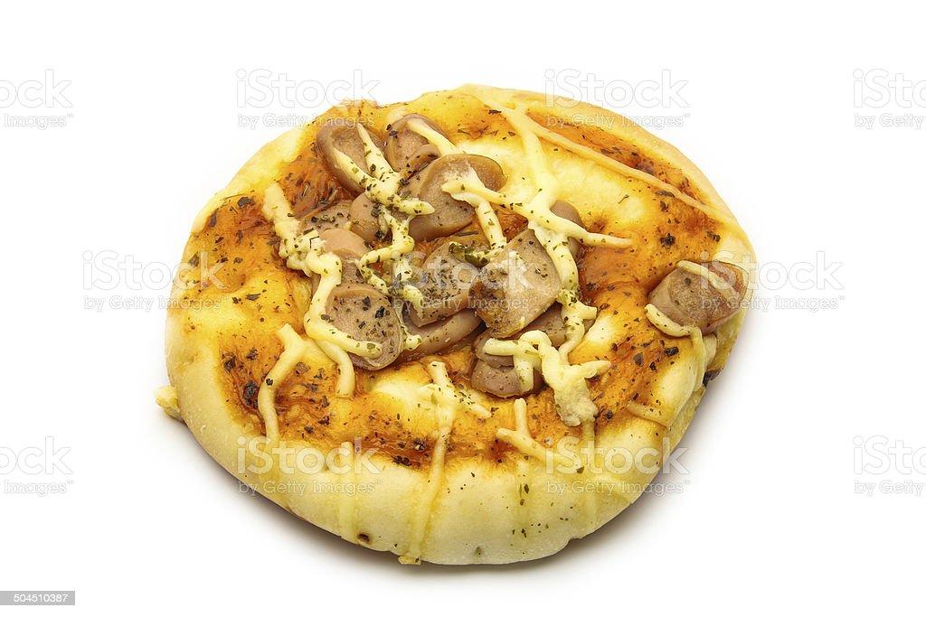 Pizza bread stock photo