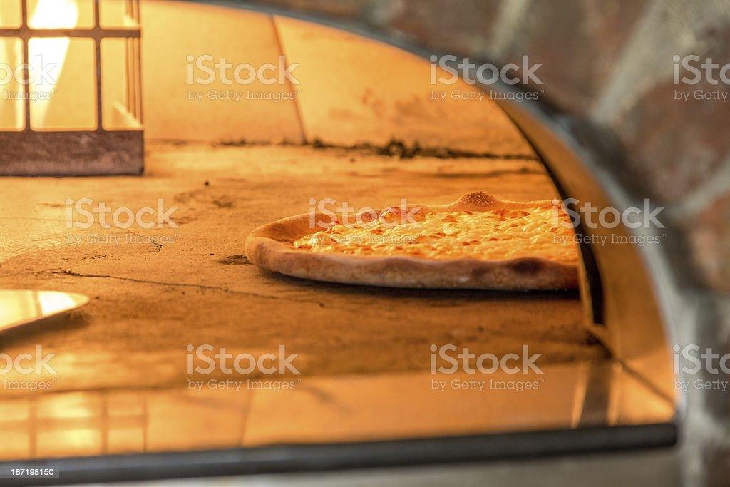 Pizza Brick Oven stock photo