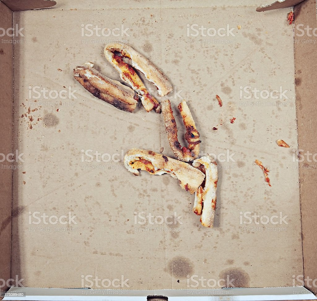 Pizza Crust royalty-free stock photo