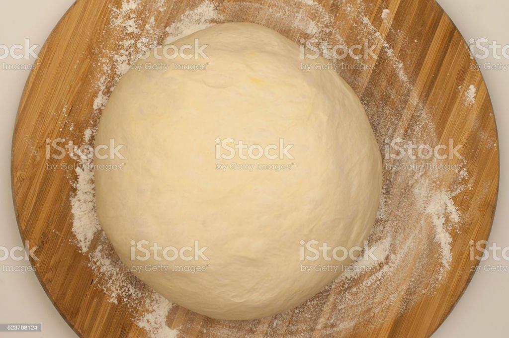 Pizza Dough Ball stock photo