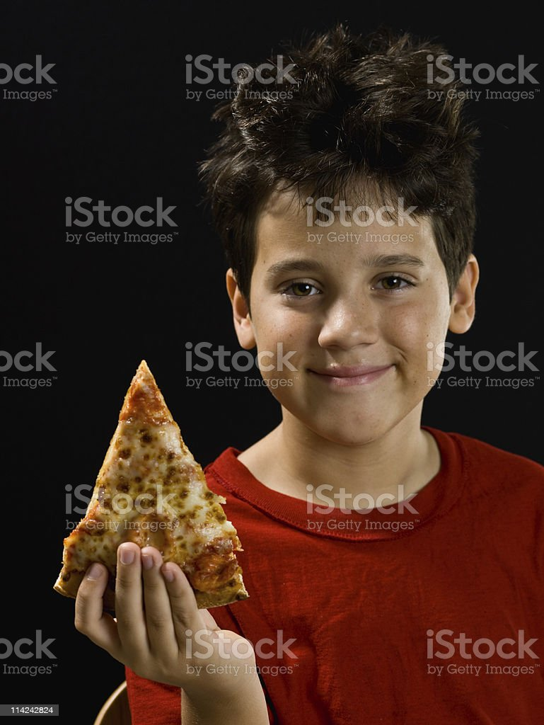 Pizza for Dinner royalty-free stock photo