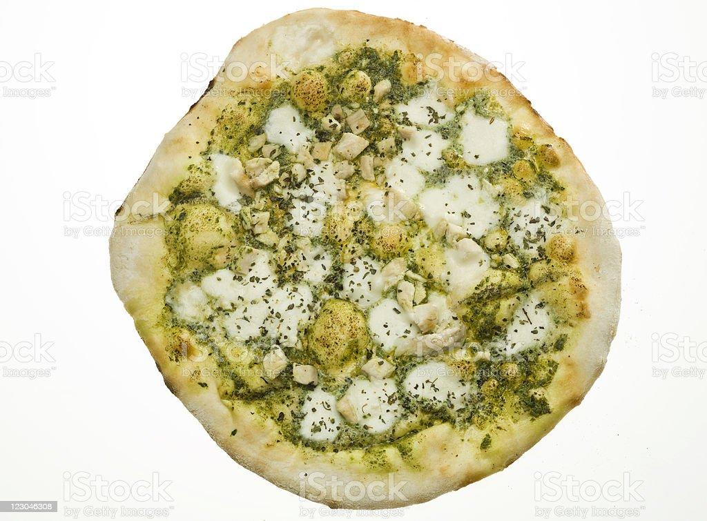 Pizza Genovese royalty-free stock photo