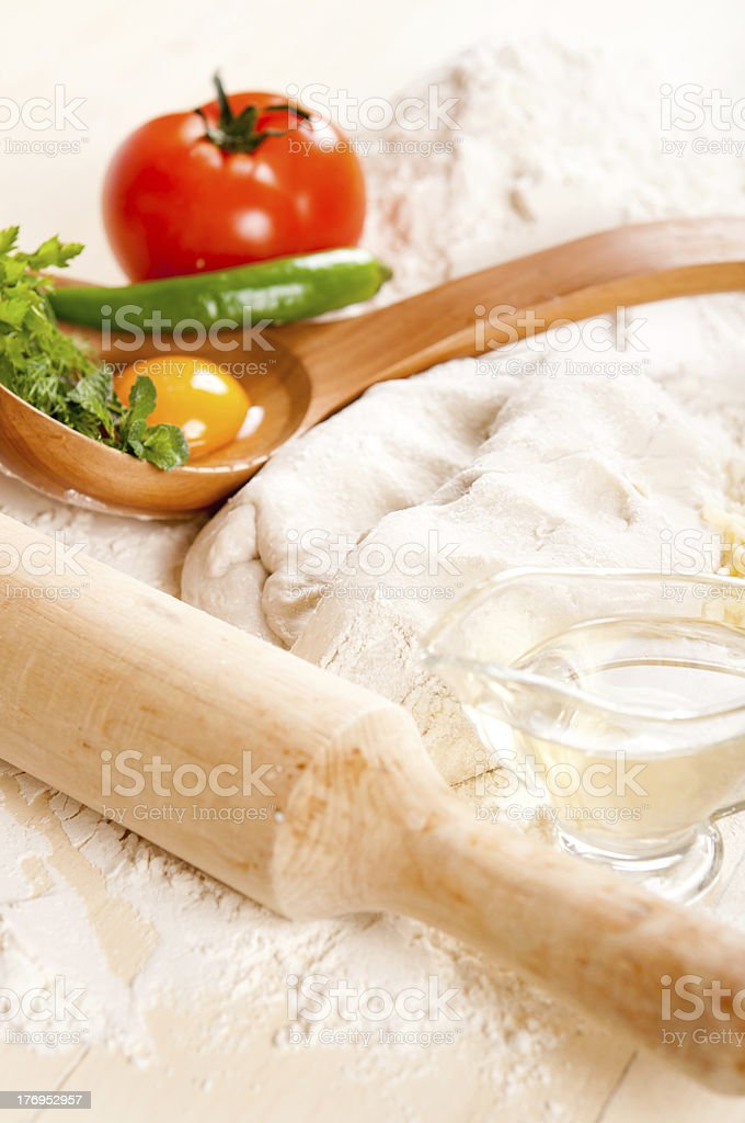 pizza ingredients royalty-free stock photo