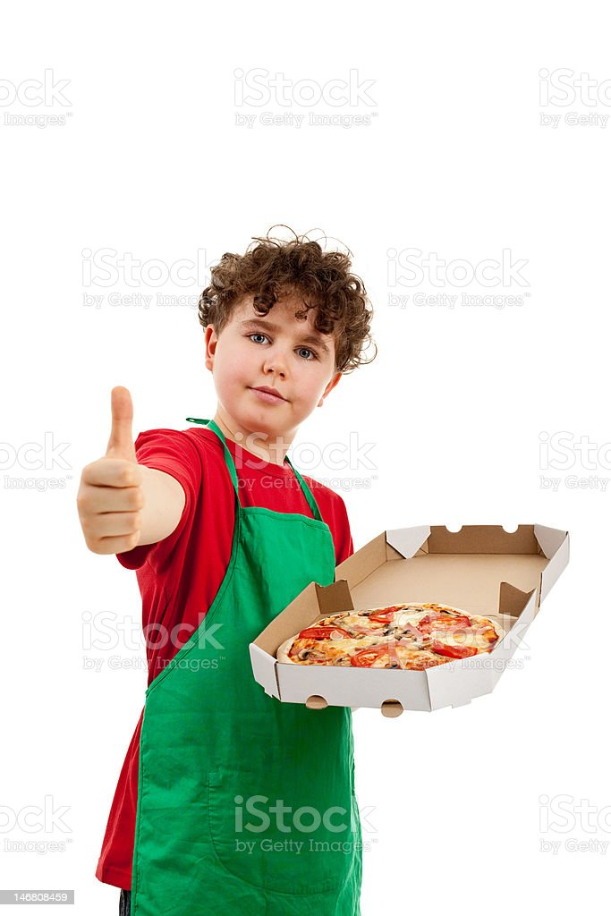 Pizza is OK royalty-free stock photo