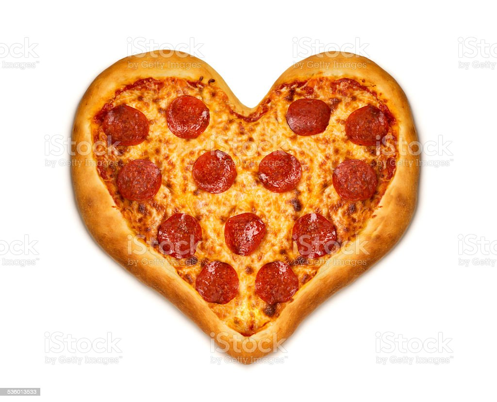 Pizza Love stock photo