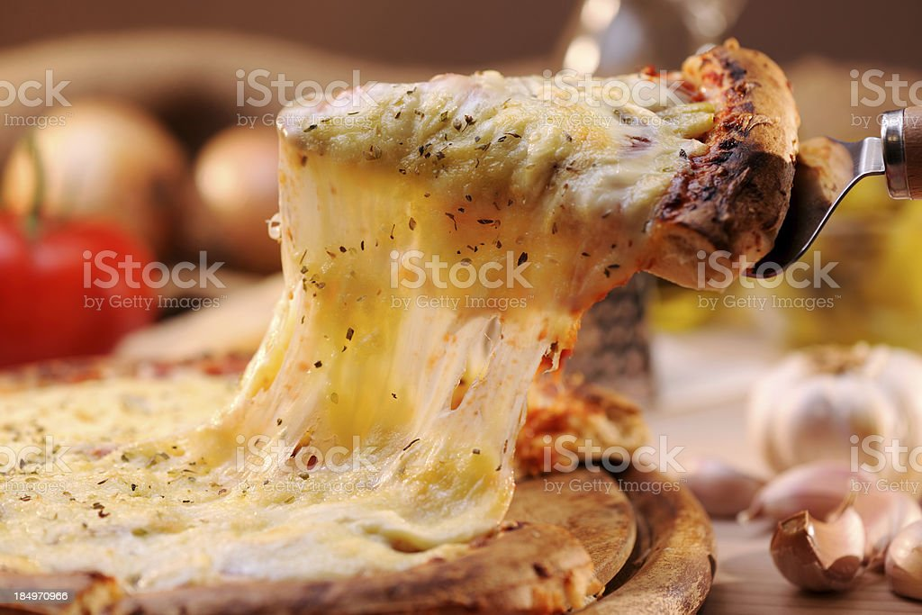 Pizza Margharita stock photo