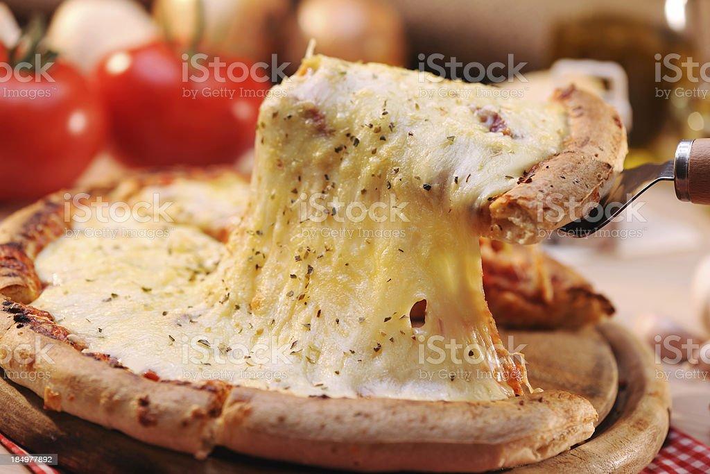 Pizza Margharita stock photo