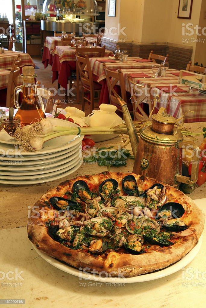 pizza napoletana stock photo