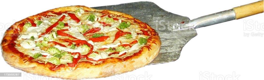 pizza paddle royalty-free stock photo