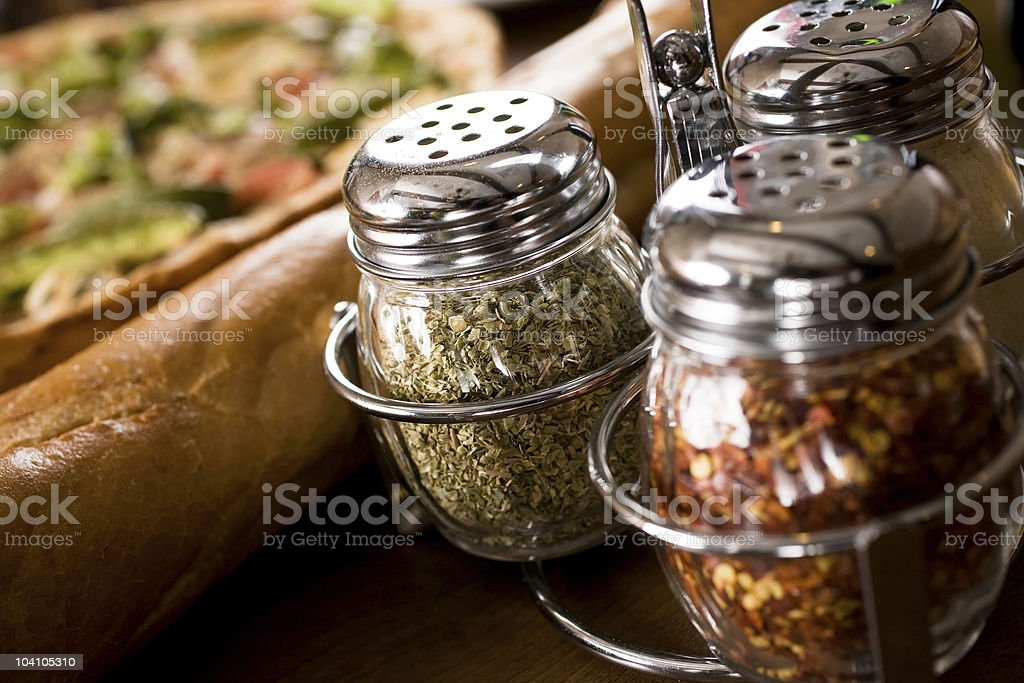 Pizza Parlor stock photo