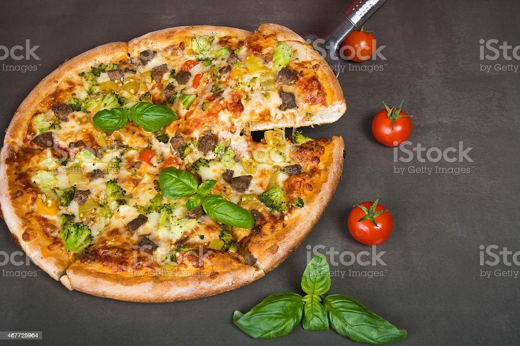 Pizza foto de stock libre de derechos