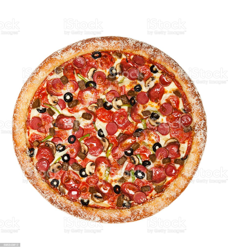 Pizza stock photo