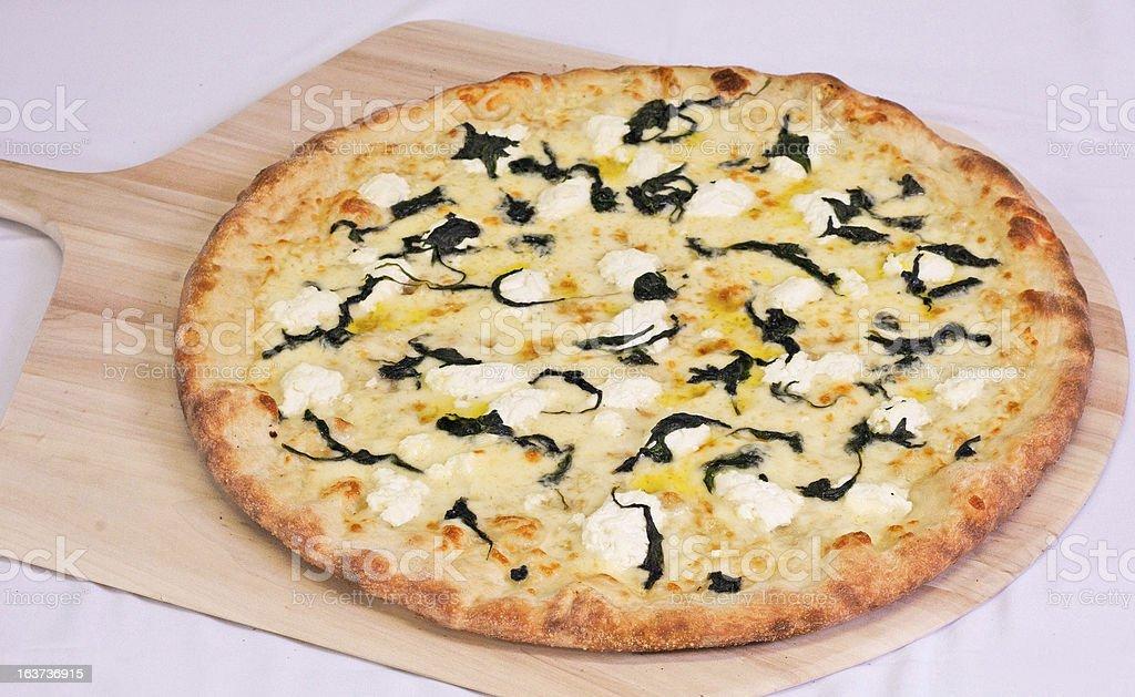 Pizza Pie stock photo