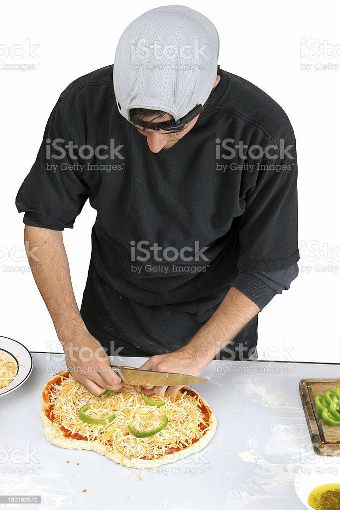 Pizza Preparation 1-13 royalty-free stock photo