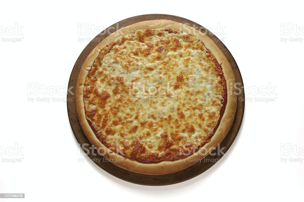 Pizza Preparation - Finished Product stock photo