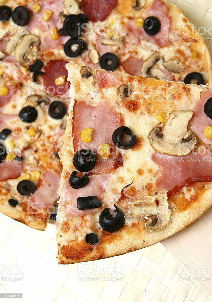 Pizza series 1 royalty-free stock photo