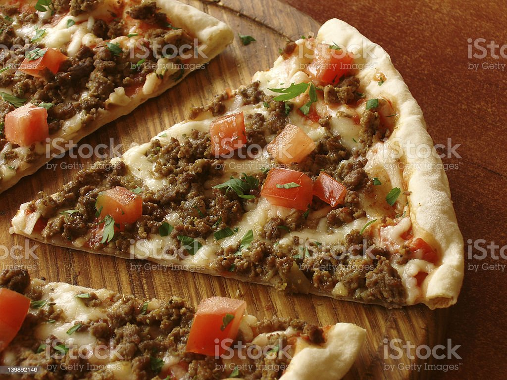 pizza slice Lizenzfreies stock-foto