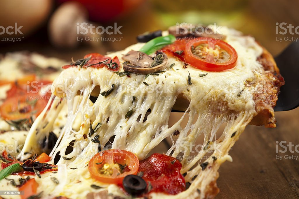 Pizza Slice. stock photo