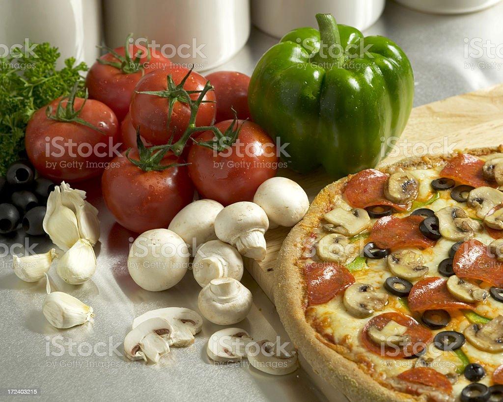 pizza still life royalty-free stock photo