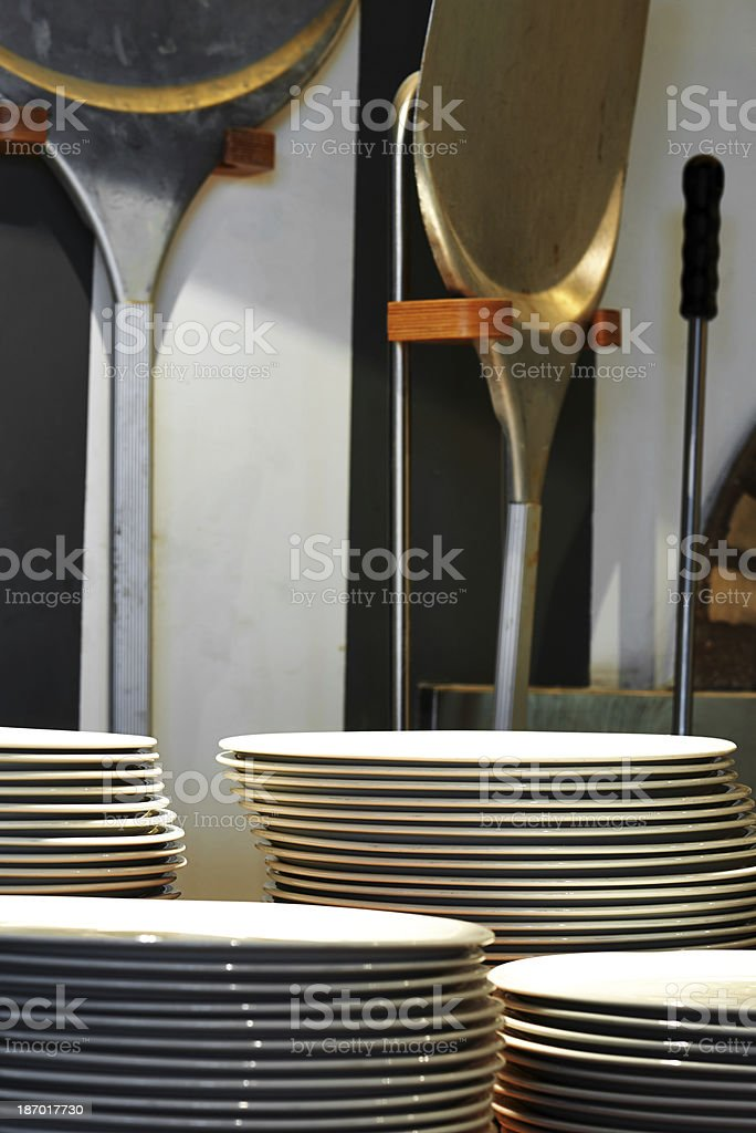 Pizza tools royalty-free stock photo