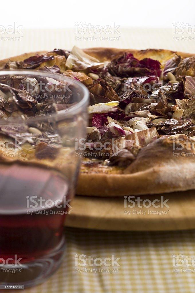 Pizza de Trévise photo libre de droits