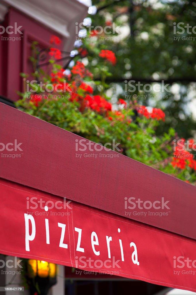 Pizzaria royalty-free stock photo
