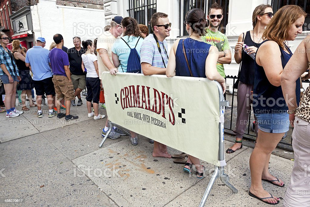 Pizzeria New York City royalty-free stock photo