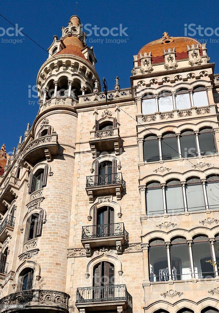 Placa de Catalunya, Barcelona, Catalunia, Spain stock photo